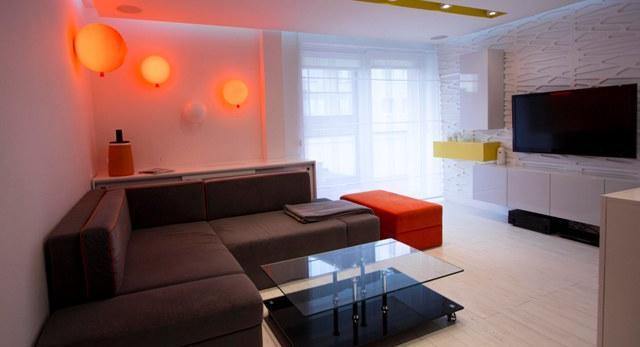 Architektura wnętrz. Minimalistyczny Pop-Art, czyli metamorfoza mieszkania według projektu Arkadiusza Grzędzickiego